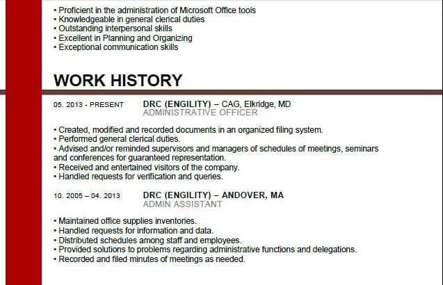 administrative assistant resume exle archives free