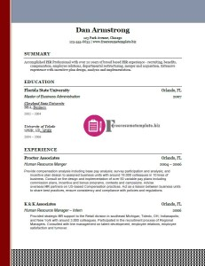 free resume template 26