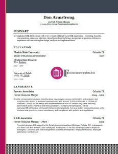 free resume template 28