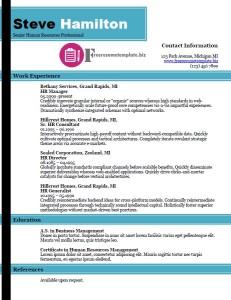 free resume template 34