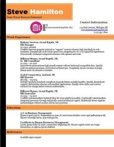 free resume template 35
