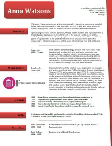 free resume template 38