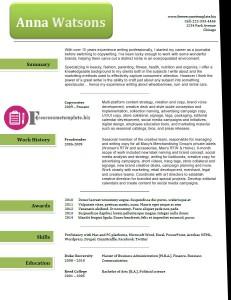 free resume template 39