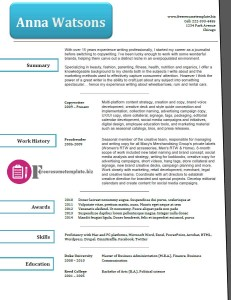 free resume template 40