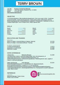 free resume template 44