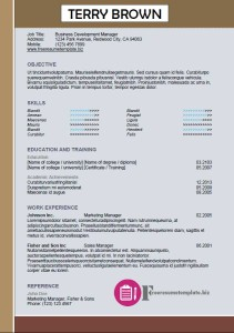 free resume template 48